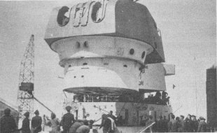 Heavy Cruiser Baleares Turret